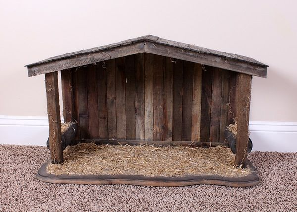 Image Result For Wooden Nativity Stable Holiday Decor Pinterest Nativity Stable Nativity