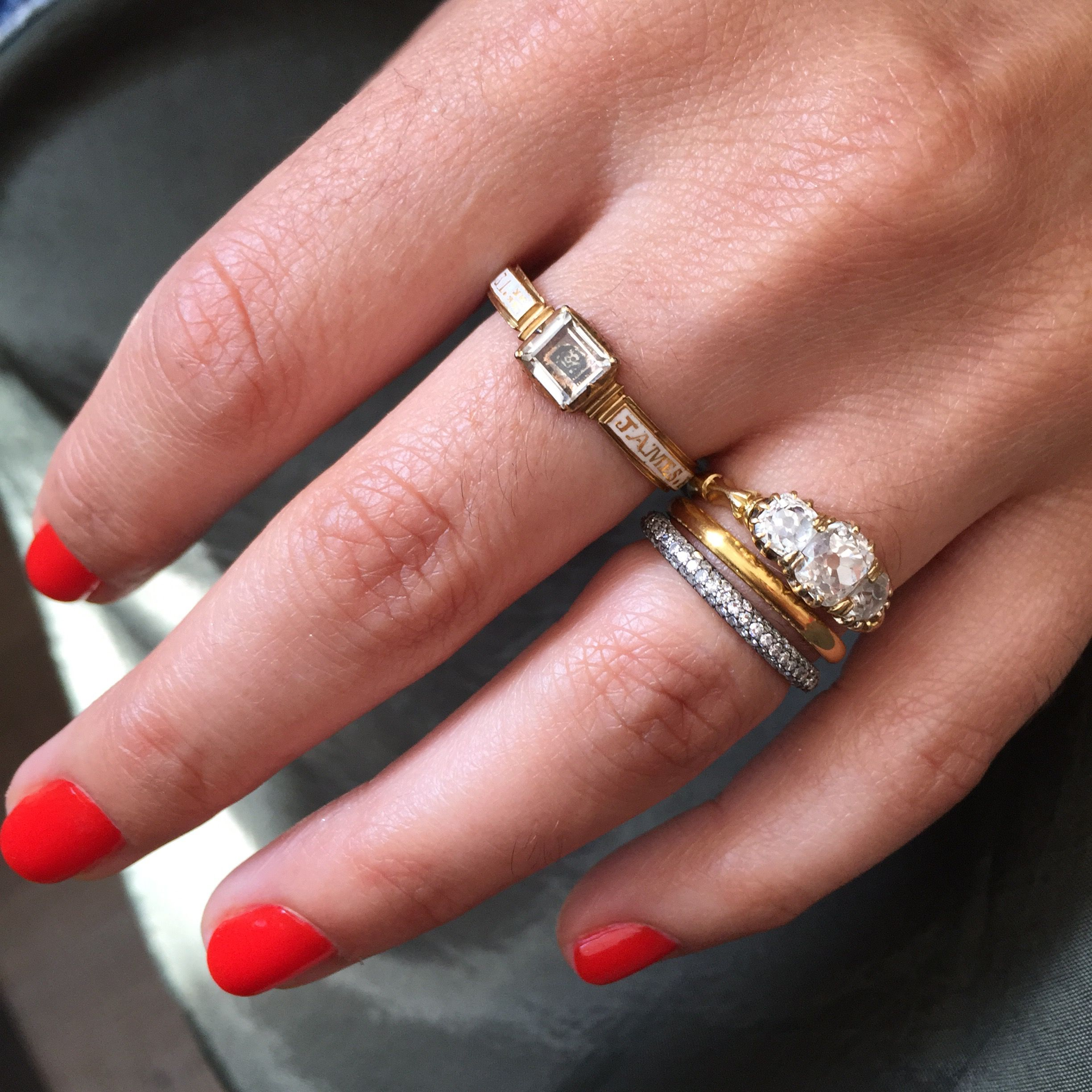 Wedding Band Guide   Wedding band guide, Diamond eternity bands and ...