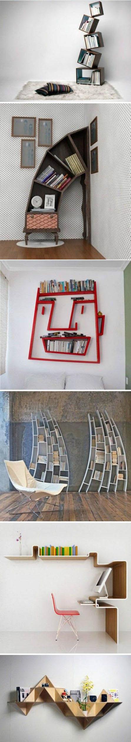 Great Bookshelf Ideas | DIY & Crafts Tutorials