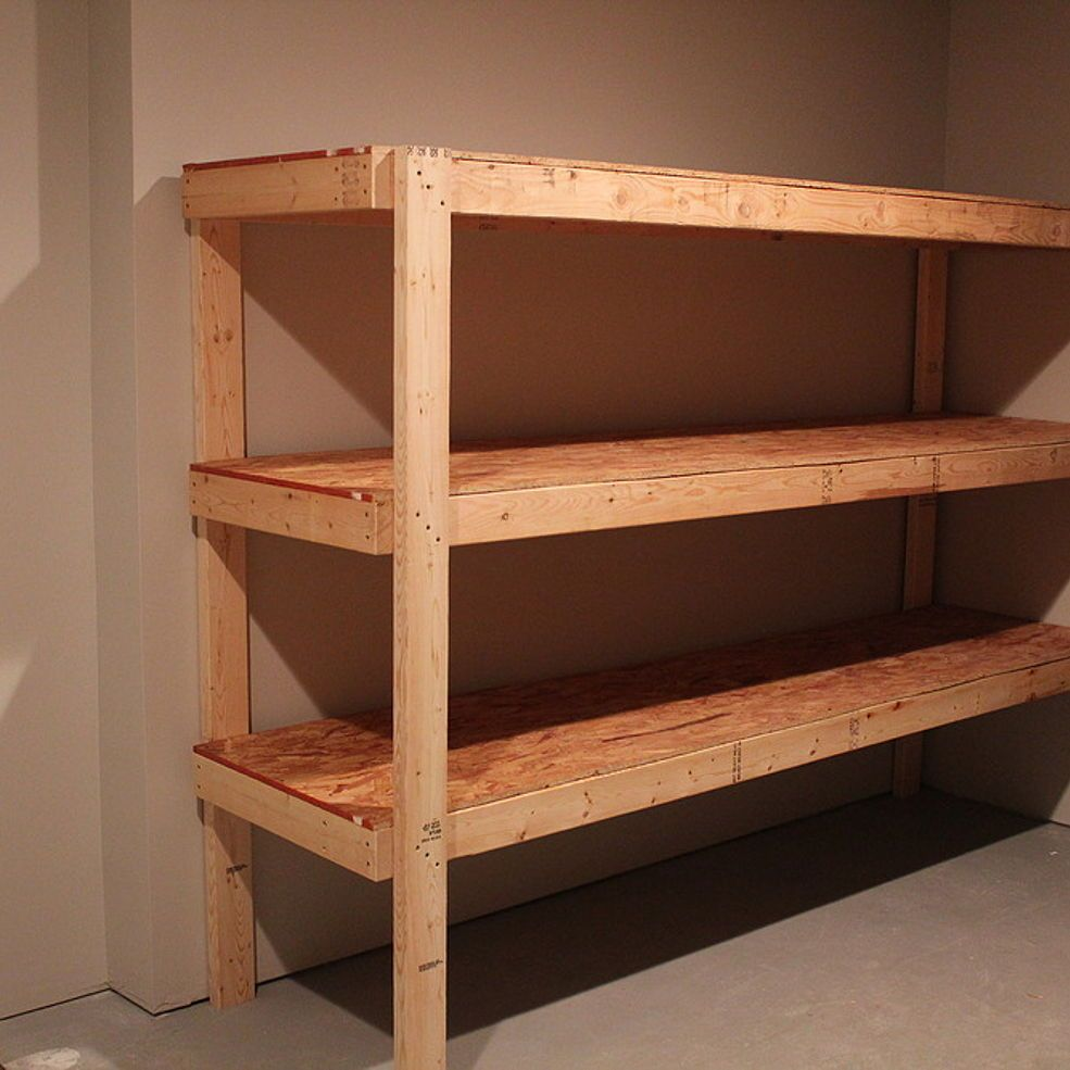 Diy Storage Shelves Basement Storage: Diy Storage Shelves, Basement Storage