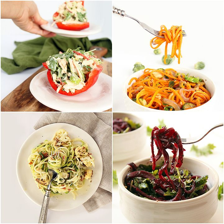 24 healthy spiralized recipes under 300 calories tips for making 24 healthy spiralized recipes under 300 calories tips for making healthier recipes forumfinder Images