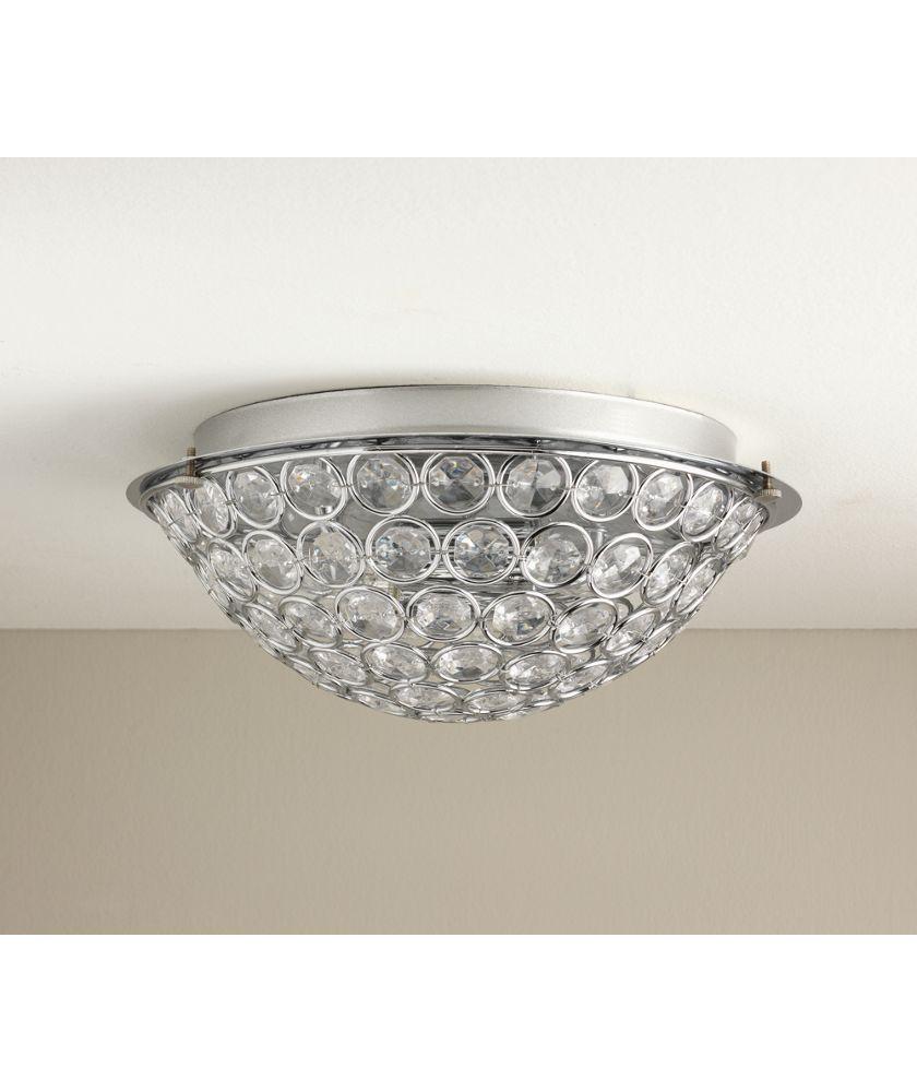 Ceiling Lights & Chandeliers Argos Home 2 Light Sparkle