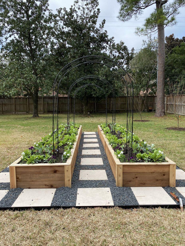 Arch Trellis Ideas For The Kitchen Garden Gardenary Vegetable Garden Design Backyard Vegetable Gardens Raised Garden Backyard raised bed garden design