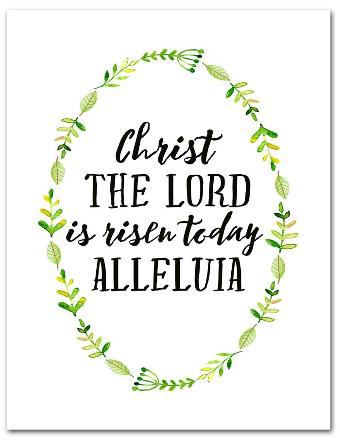 47+ Alleluia he is risen clipart info