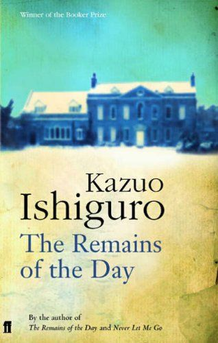 The Remains of the Day by Kazuo Ishiguro, one of my favourites.