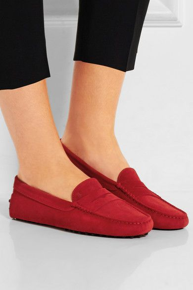 674d0b894e259 Tod's - Gommino suede loafers | Stay calm n buy shoes ;) | Shoes ...