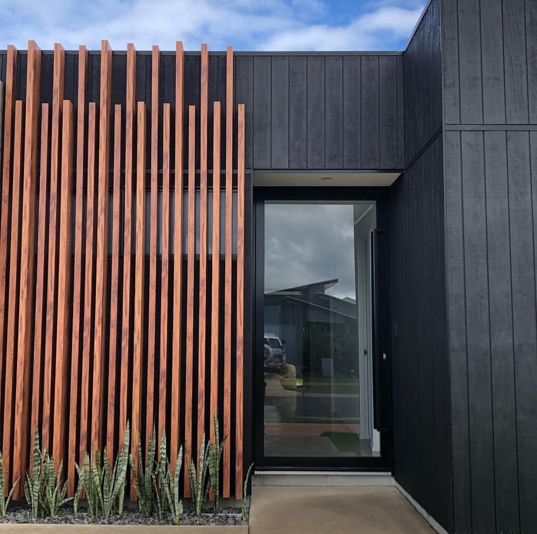 Minimalist Exterior Home Design Ideas: Wood Look Aluminium Systems. No Maintenance & Australian