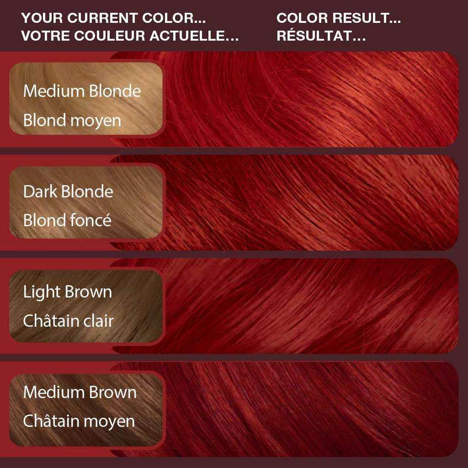 Vidal Sassoon Hair Color 6rr London Luxe Vidal Sassoon