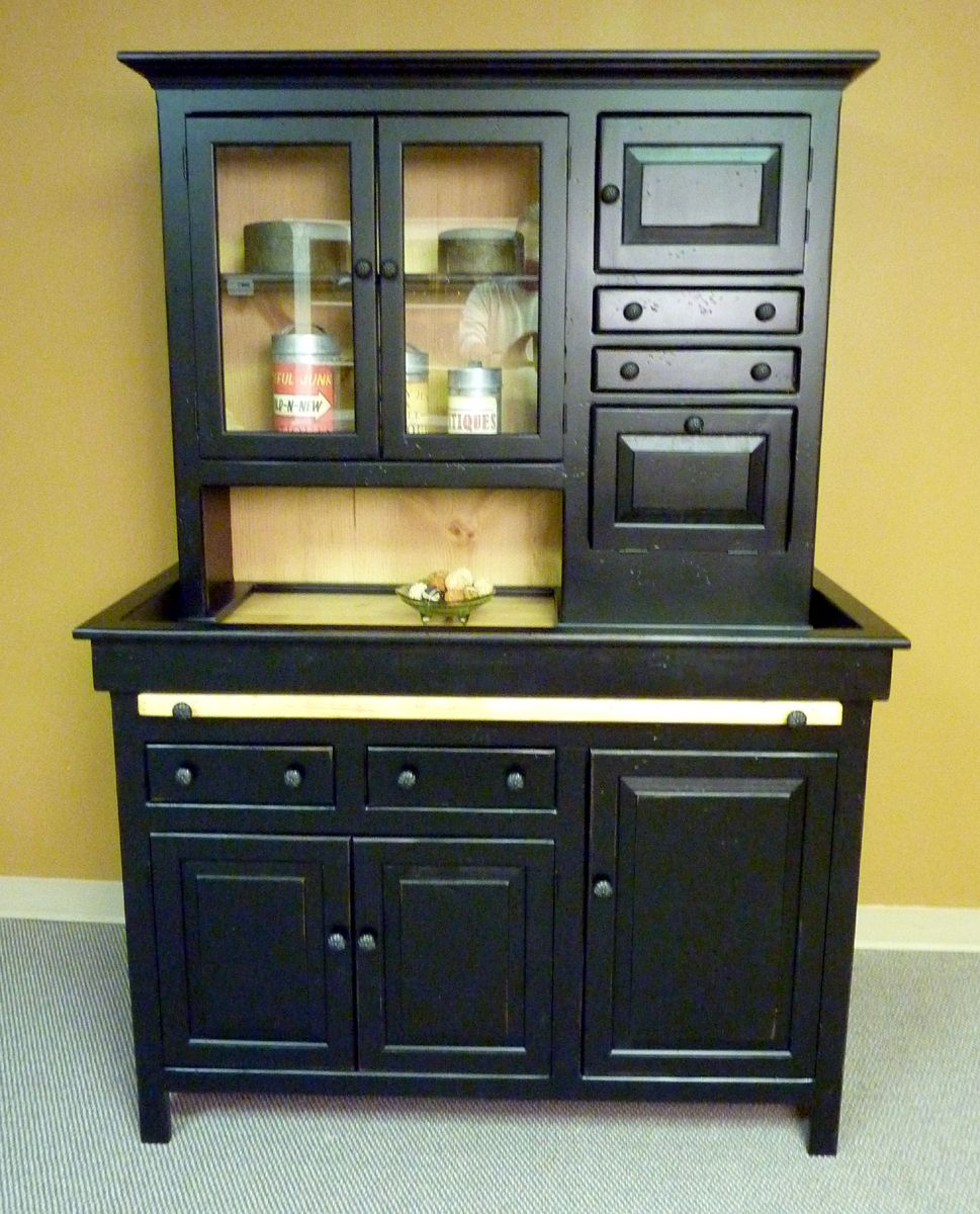 Wonderful Really Like This Large Hoosier Cabinet, Handmade In Mount Airy, GA, Antique  Reproduction...might Be Too Large.