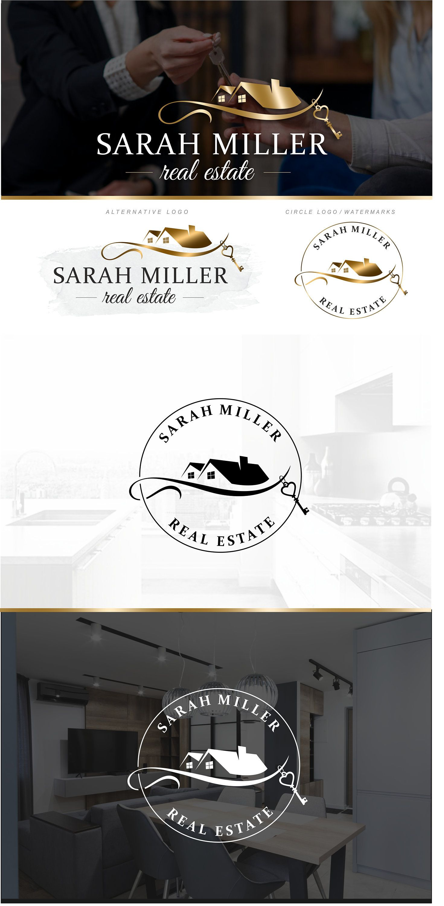 Pin on Realtor and Real estate logo designs