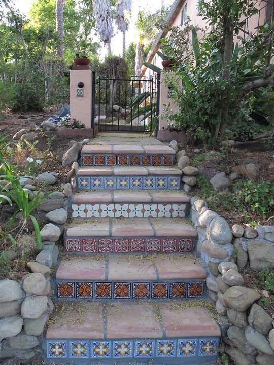 Best Saltillo Tile Stairs Saltillo Stair Tread Patio 400 x 300