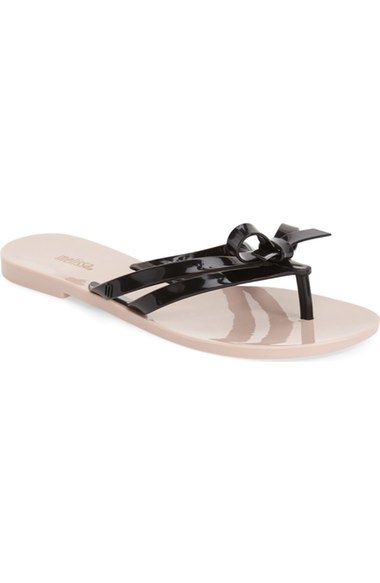 MELISSA 'Girlish' Jelly Flip Flop (Women). #melissa #shoes #