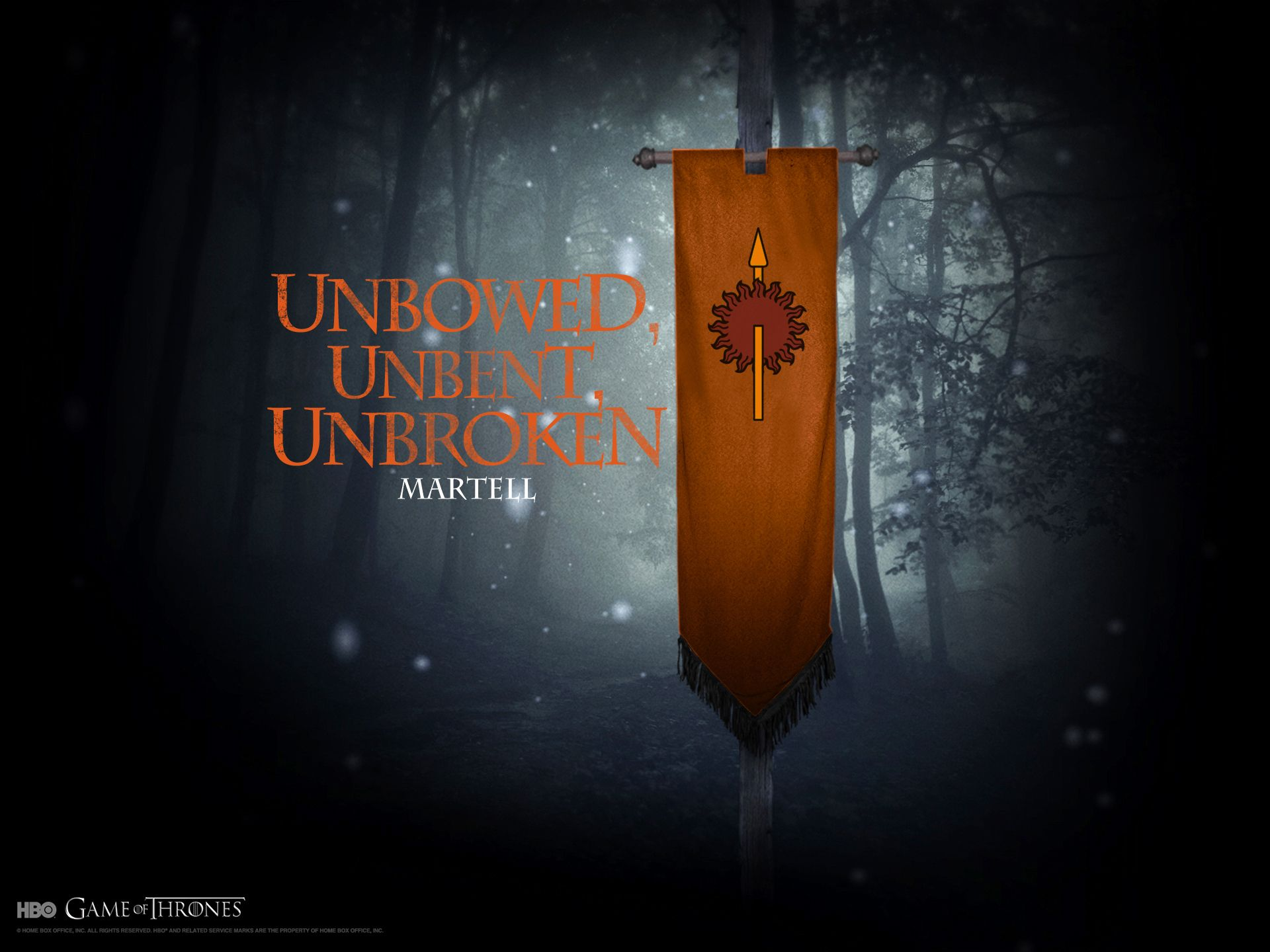 House Martell Game Of Thrones Wallpaper Game Of Thrones Game