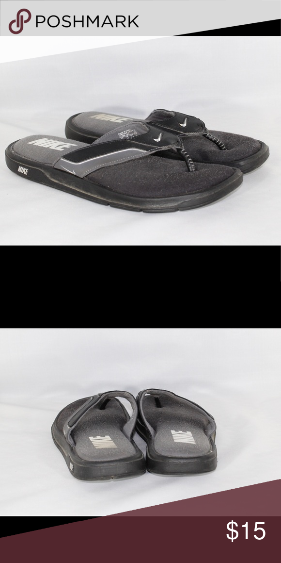 nike flip flops size 13