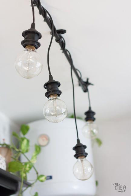 Ikea Hack Diy Hanging Lights Chandelier Diy Hanging Light Diy Hanging Light Bulbs Ikea Hanging Light