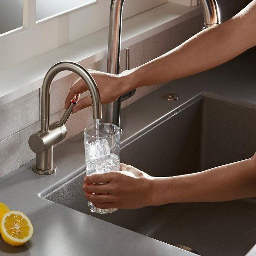 robot check hot water dispensers