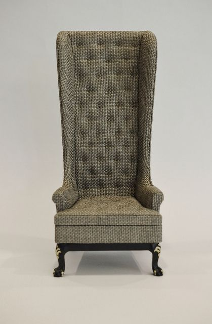 23014BKG 1/6 High Wingback Chair | Flickr - Photo Sharing!