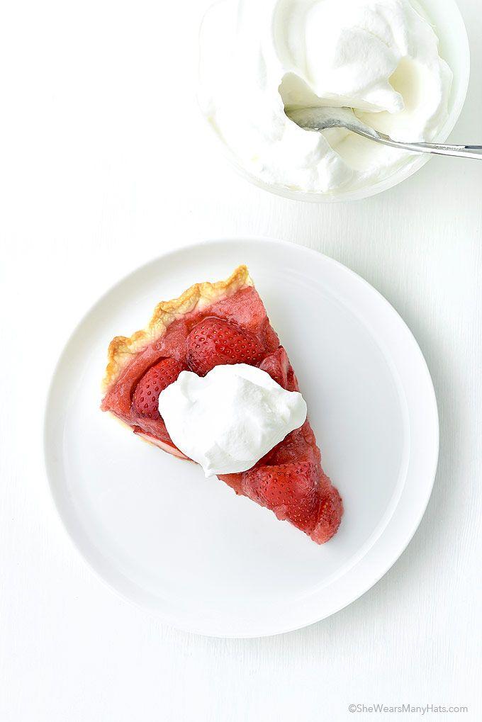 Fresh Strawberry Pie Recipe
