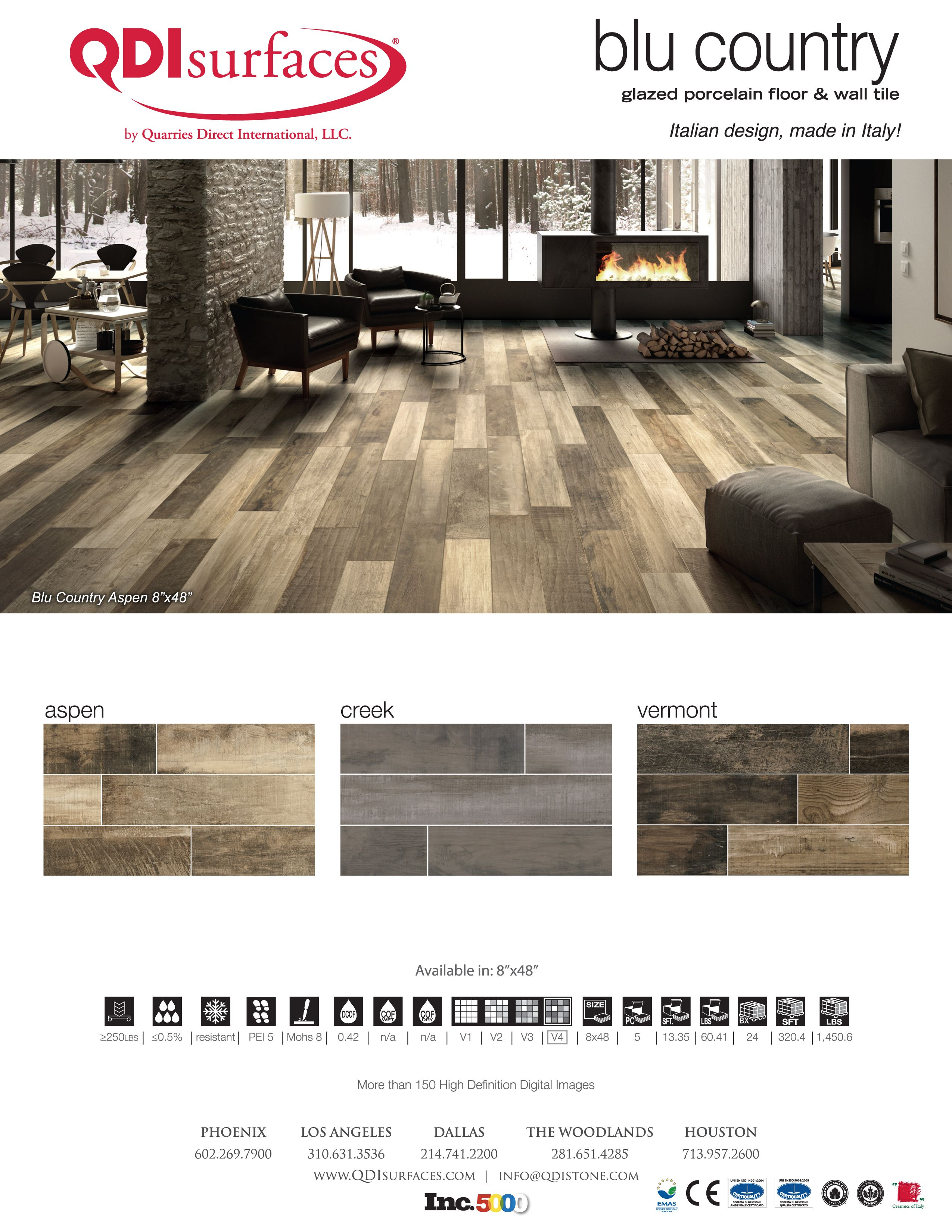 Blu Country Pressed Porcelain Tile Collection Porcelain Flooring Porcelain Tile Italian Design