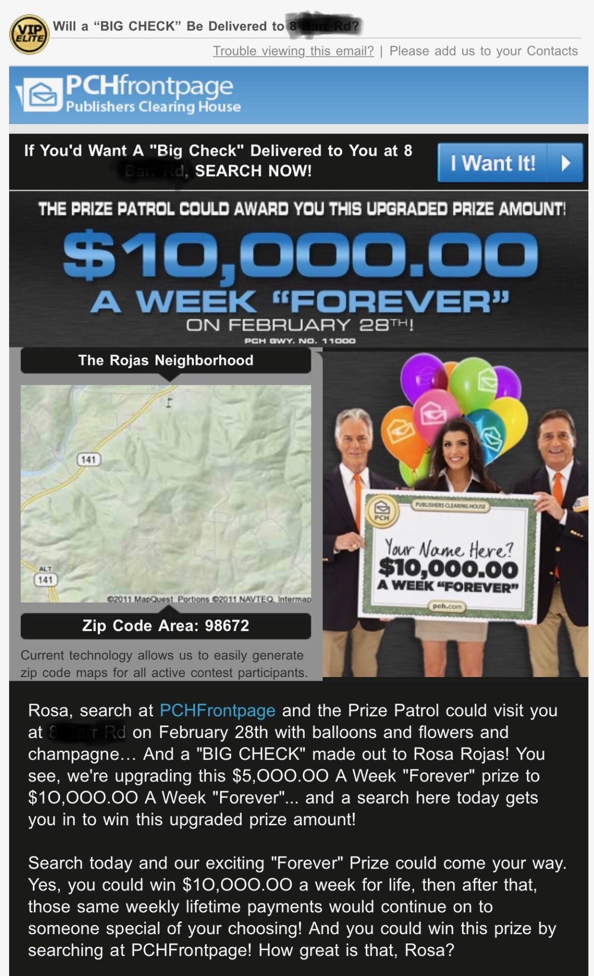 PCH LOTTO ACTNOW POWERPRIZEI Rosa Rojas now officially
