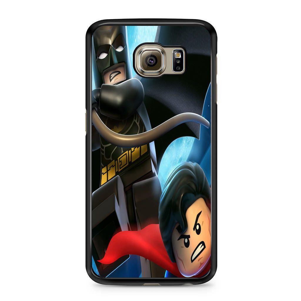 Batman and Superman Lego Samsung Galaxy S6 Case