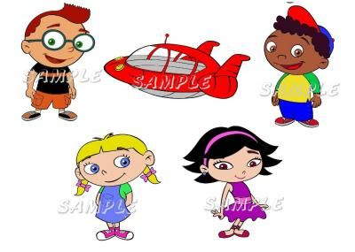 LITTLE EINSTEINS WALL DECALS STICKERS