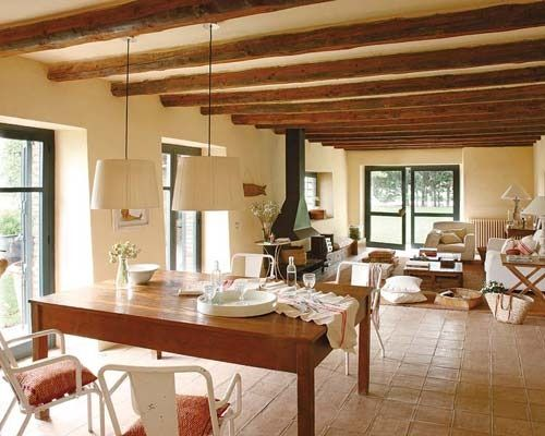 interiores casas de campo rusticas - Pesquisa Google ideas casas - interiores de casas