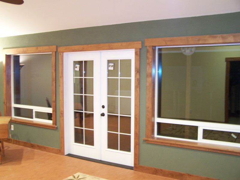 Door And Window Molding Pictures Rustic Wood Trim Moulding Basement Remodeling Ideas