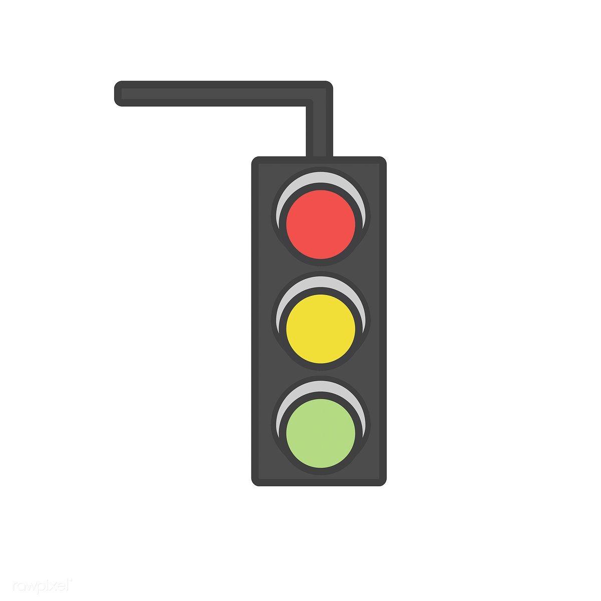 Illustration Of A Traffic Light Premium Image By Rawpixel Com Traffic Light Light Icon Illustration