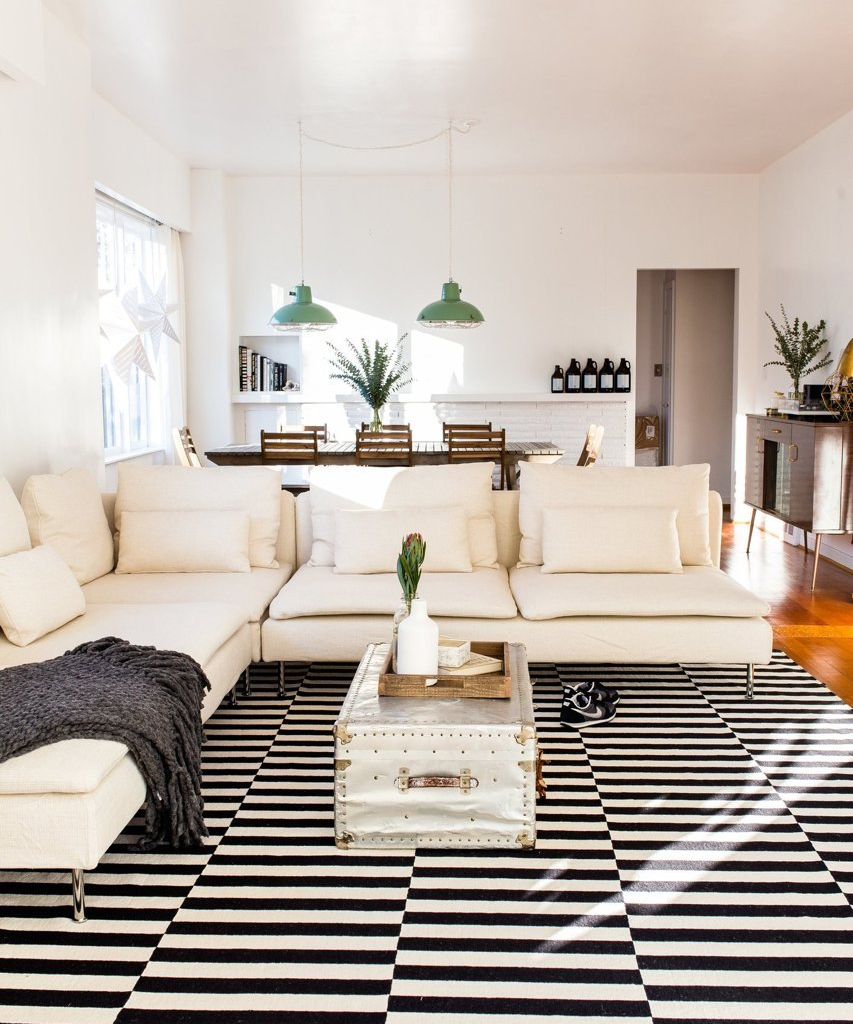 Our Home is on Apartment Therapy | Bright, Living rooms and Room