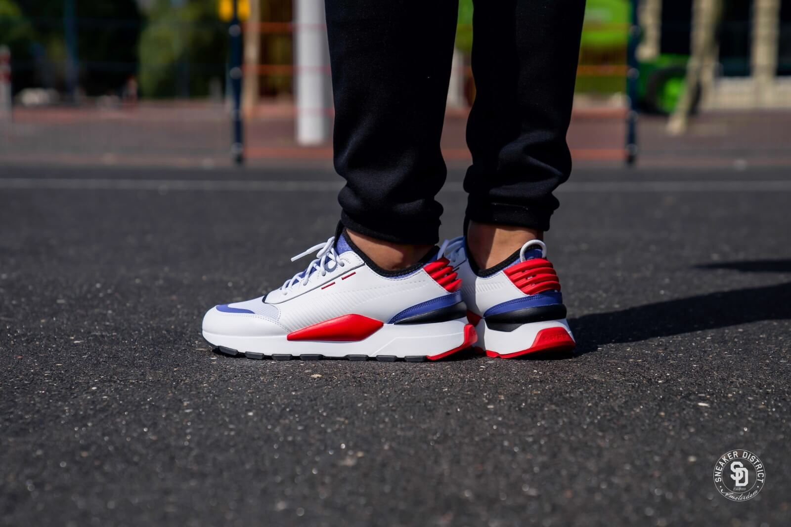 Puma RS-0 Sound Puma White-Dazzling Blue-High Risk Red ...
