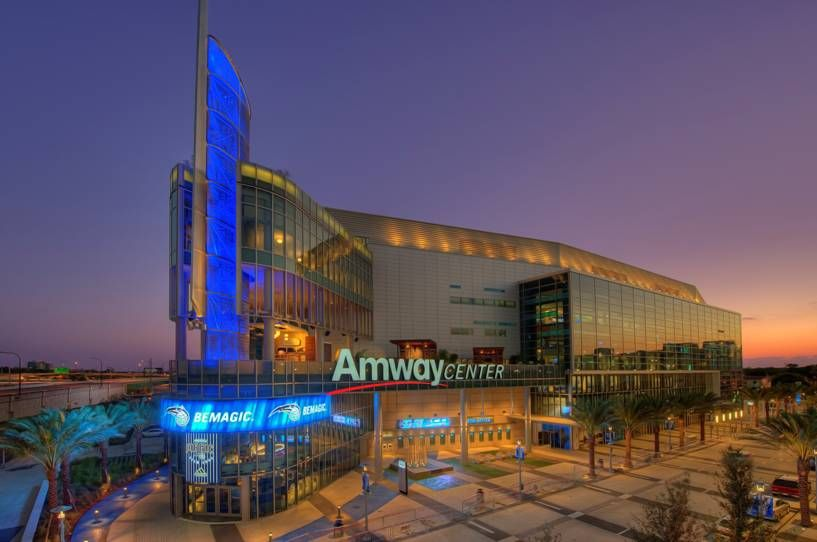 Amway Center Orlando, FL. Great architecture for sports
