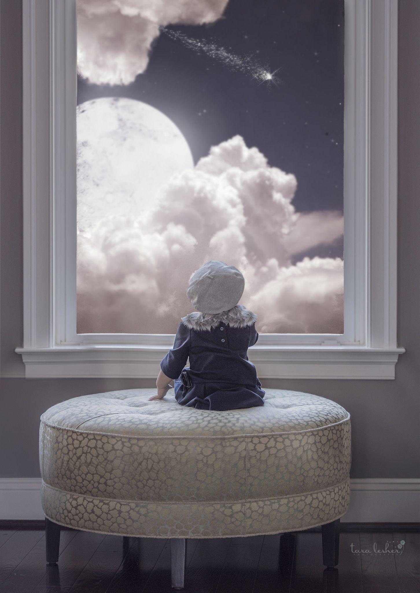 I wish I may, i wish I might - Wish on a star composite - Photograph Tara Lesher