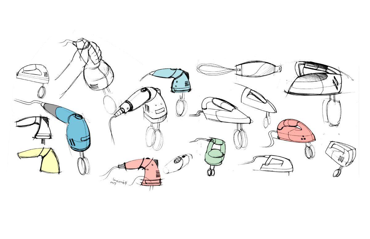 sketches sketches of kitchen hand mixer redesign lamp design pinterest kitchen hand. Black Bedroom Furniture Sets. Home Design Ideas