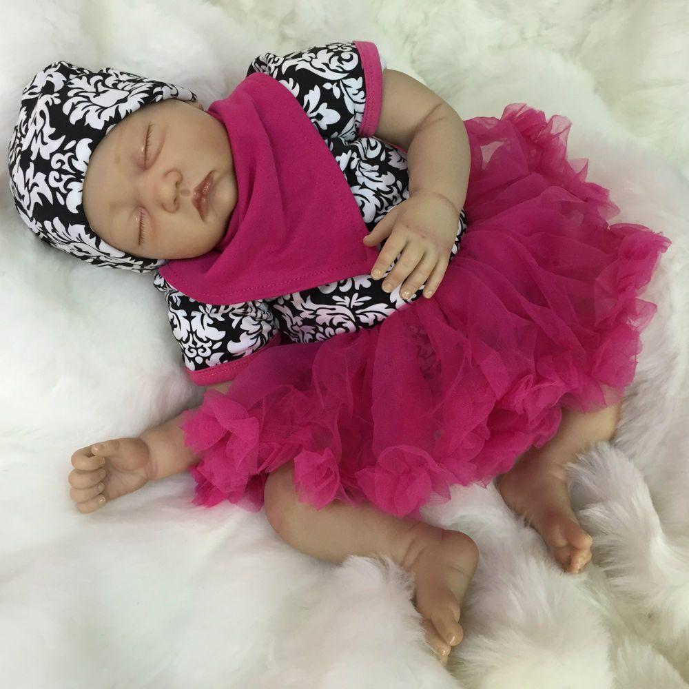 CHERISH DOLLS NEW REBORN BABY DOLL GIRL CHLOE FAKE BABIES REALISTIC 22  NEWBORN