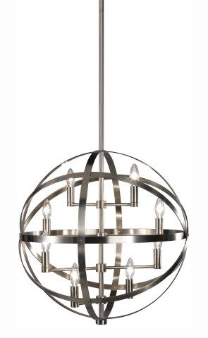 LARGE PENDANTS  Ceiling lights Toronto Bath and vanity lighting Chandelier lighting Outdoor lighting and kitchen lights  Union  sc 1 st  Pinterest & 8 LIGHT THICK BAND SPHERE PENDANT :: LARGE PENDANTS :: Ceiling ... azcodes.com