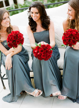 Kentucky Derby Wedding Inspiration: Roses are Red | Grey weddings ...