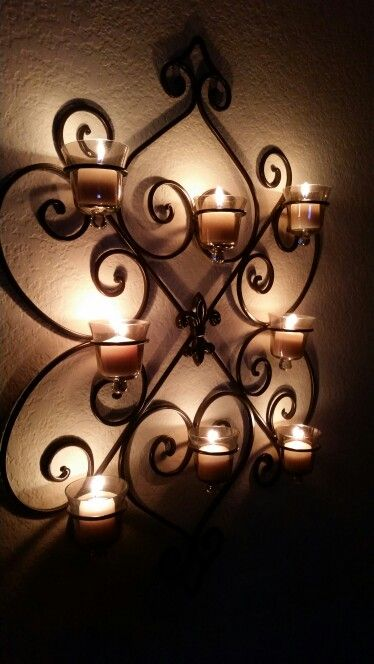 Hobby lobby wall candle holder | Wall candles, Wall candle ... on Hobby Lobby Wall Candle Sconces Wall Candle Holders id=84832
