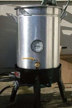 From Brew Pot To Brew Kettle Projects Home Brewing Beer Home Brewing Equipment Brewing Equipment