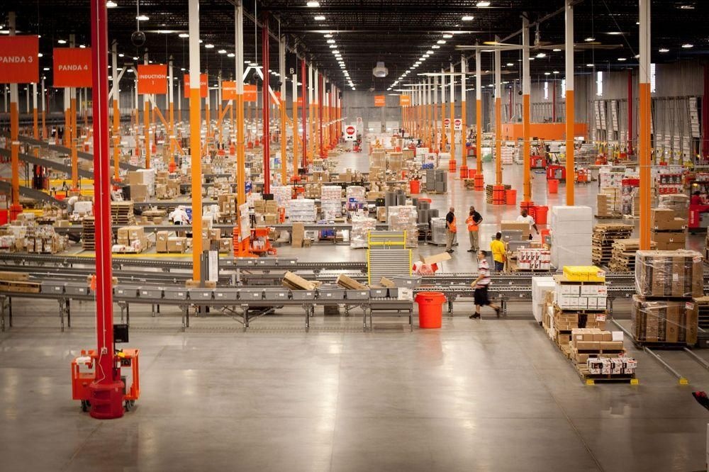 Inside An Average Home Depot The Home Depot Office Photo