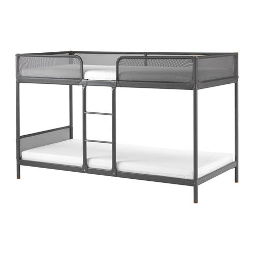 Tuffing Estrutura Beliche Cinz Esc 90x200 Cm Ikea Loft Bed Frame Bunk Beds Ikea Bed