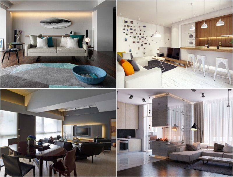 indirekte-beleuchtung-led-wohnzimmer-ideen-wand-decke LICHT - wohnzimmer ideen decke