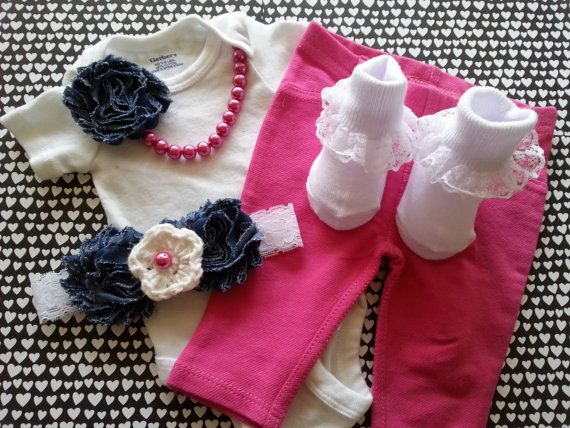 Hey, I found this really awesome Etsy listing at https://www.etsy.com/listing/219129685/baby-girl-newborn-take-home-outfit-pink