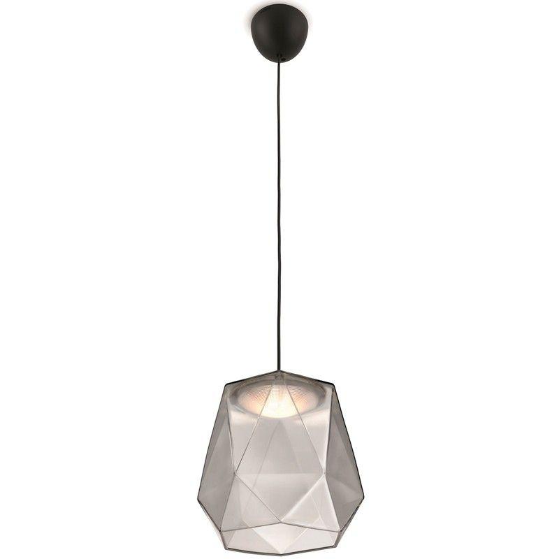 Lampara De Techo Led Geometrica Cristal Lamparas Campanas Cupulas De Cristal Poligono