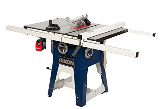 Rikon Power Tools 10 201 Cast Iron Contractors Saw 10 Inch Cheap Table Saw Skilsaw Table Saw Slidin Contractor Table Saw Diy Table Saw Portable Table Saw