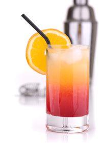 Cocktails au Cognac : MALIBU SUNRISE