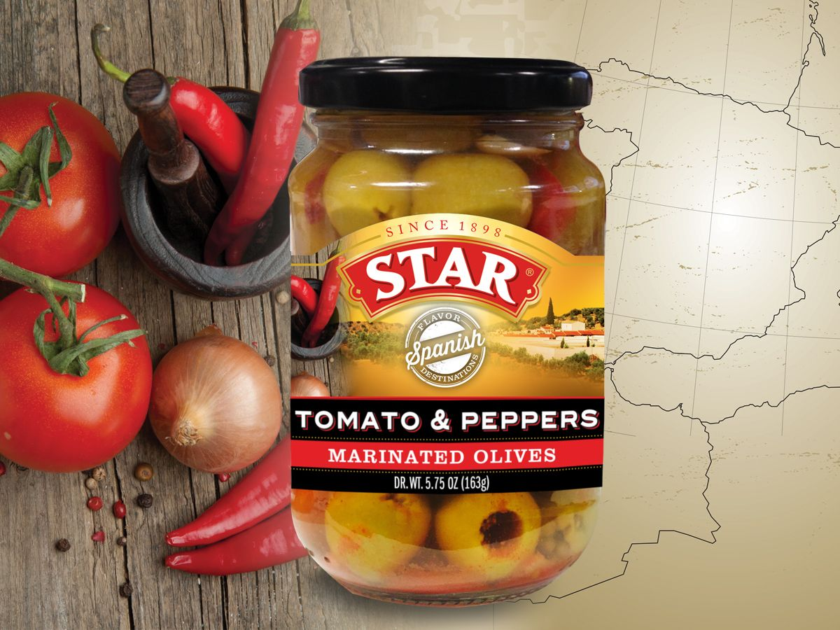 STAR Flavor Destinations Spanish (Tomato & Peppers