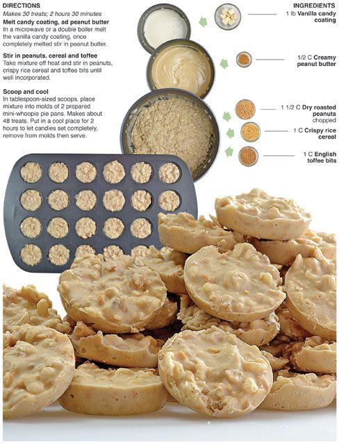 Peanut Toffee Cookies