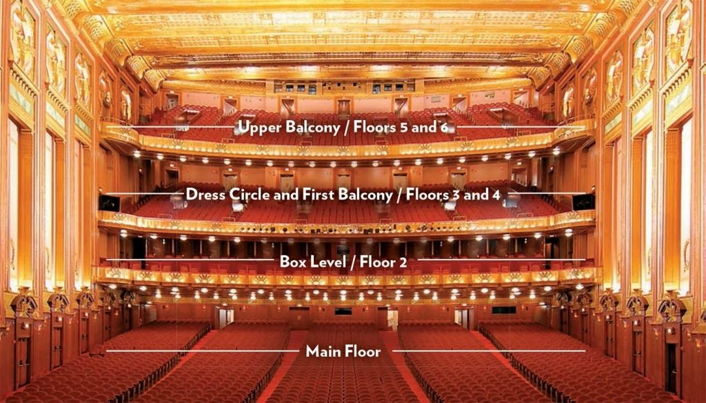 Elegant As Well As Stunning Lyric Opera Chicago Seating Chart Di 2020