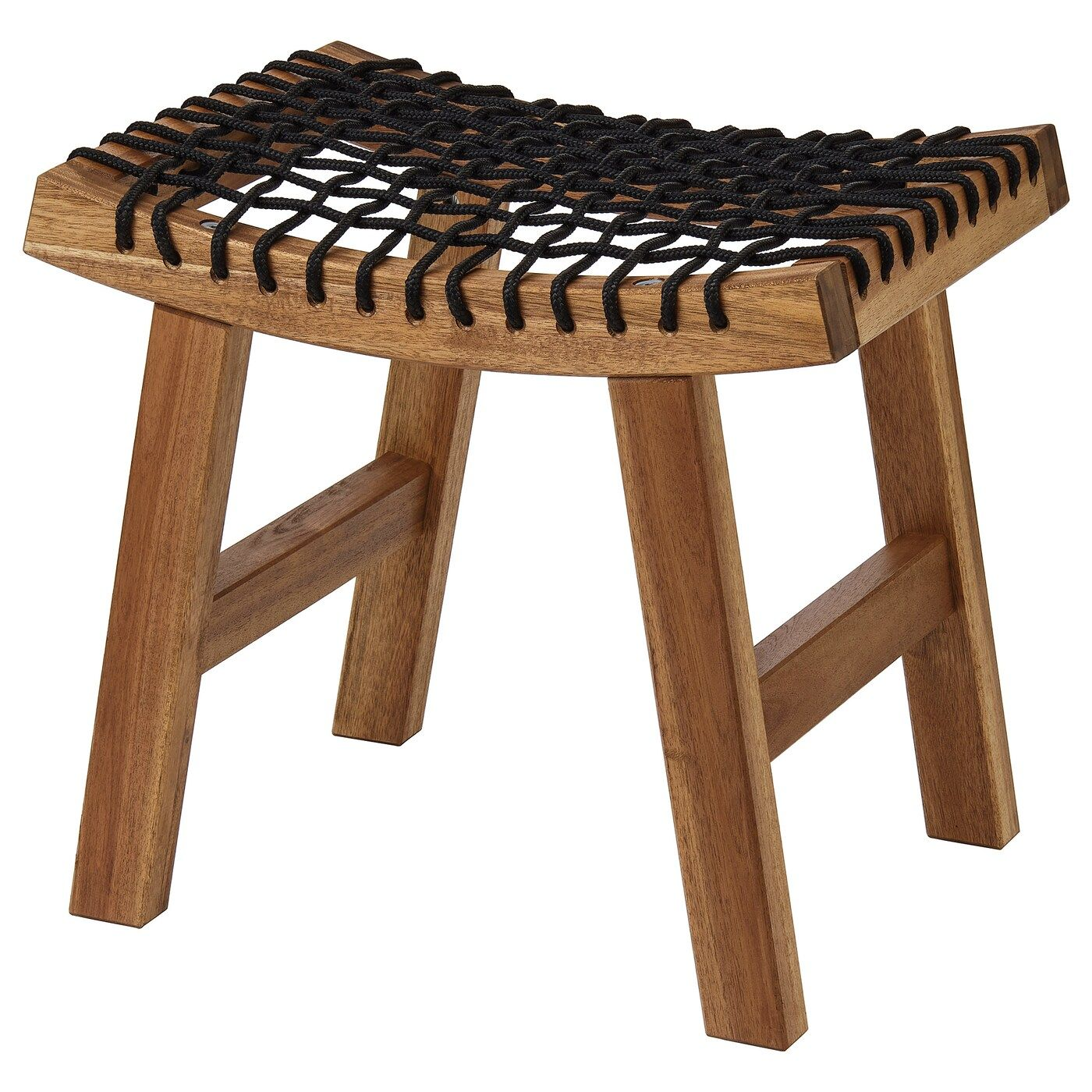 Tabouret En Bois Ikea stackholmen tabouret, extérieur - teinté brun clair